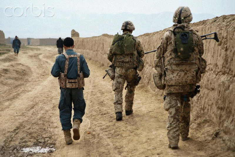 Afghanistan - Conflict - German Isaf Soldiers in Kunduz Area
