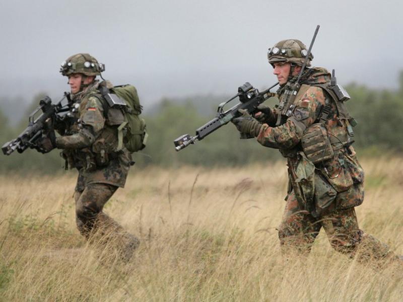 Einsatzvorbereitung im Gefechtsübungszentrum
