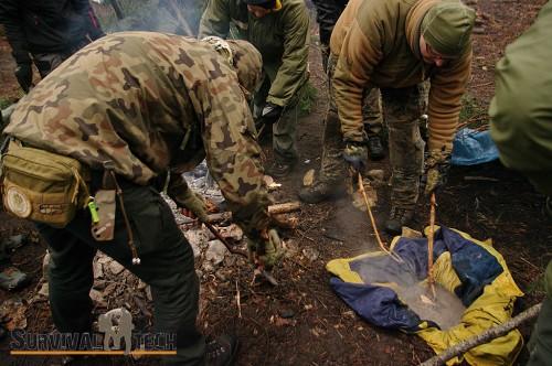 Pełne szkolenie survivalowe - styczeń 2014
