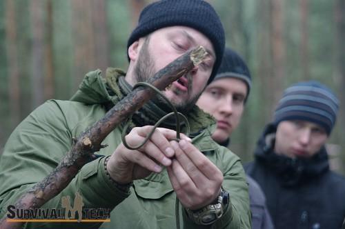 Pełne szkolenie survivalowe - luty 2014