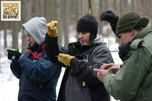 Pełne szkolenie survivalowe - luty 2013