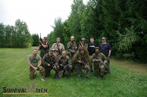 Szkolenie Combat SERE - sierpień 2014