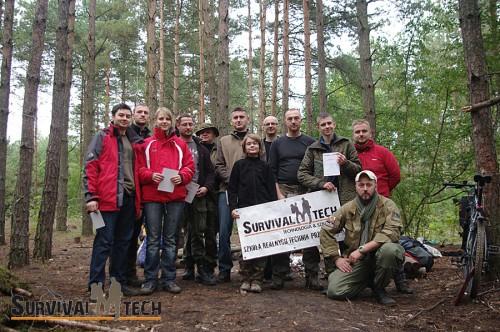 Pełne szkolenie survivalowe - wrzesień 2014