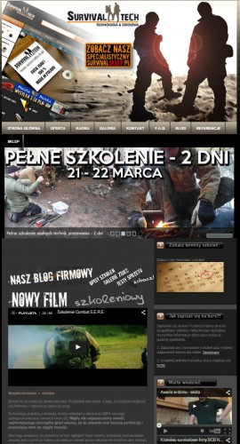 Stara strona survivaltech.pl