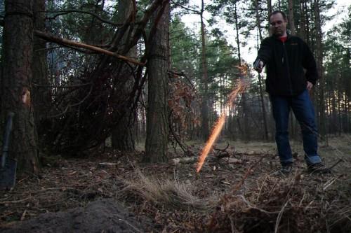 Pełne szkolenie survivalowe - marzec 2012