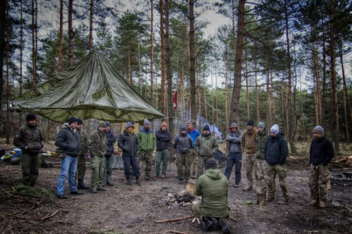 Pełne szkolenie survivalowe - marzec 2016