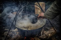 Real survival kitchen classes in April