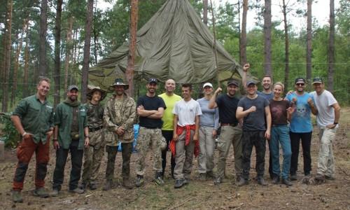 Pełne szkolenie survivalowe - sierpień 2017